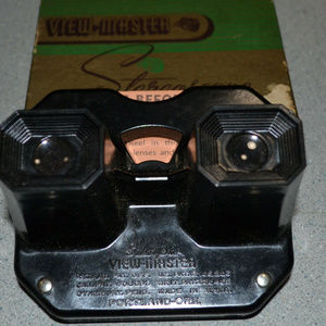 Vintage Sawyers Viewmaster In Box With Reels